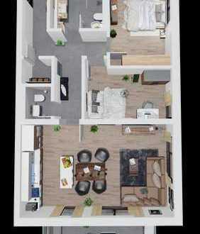 3 Zimmer Wohnung mit liebe zum Detail