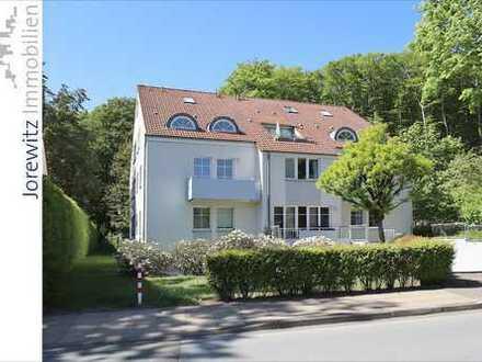 Absolute Top-Lage am Wald von Bielefeld-Hoberge: 3 Zimmer-Wohnung mit drei Balkonen und einer Loggia