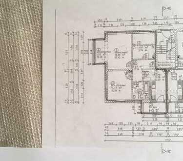 Schöne 3-Zimmer-Hochparterre-Wohnung mit Balkon in Dresden