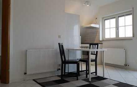 Liebevoll teilmöblierte und frisch renovierte 2-Zimmer-DG-Wohnung mit Balkon und EBK in Worms