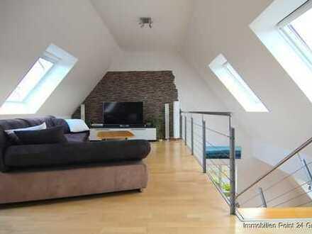 Traumhaft schöne Maisonette-Wohnung mit Blick - am Steigerwald gelegen