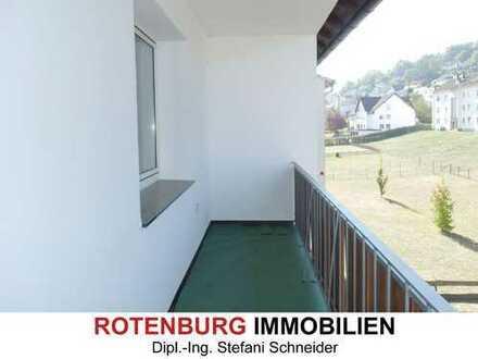 3-Zi-Wohnung mit Balkon in stadtnaher Lage von Rotenburg