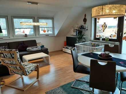 Sanierte 5-Zimmer-Wohnung mit Balkon und Einbauküche in Hüfingen-Behla