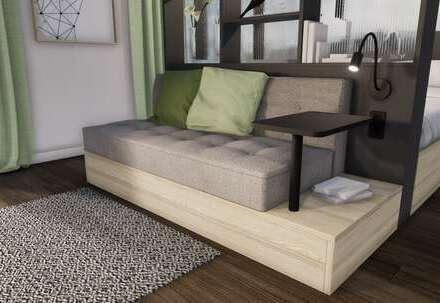 Möbliertes Apartment (Komfort Plus Penthouse, Typ H) mit bis zu 18.000 € Tilgungszuschuss