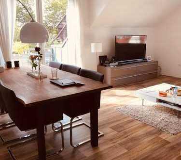 Großzügige 3-Zimmer Wohnung mit 2 Schlafzimmern und Dachterrasse im Duisburger Süden