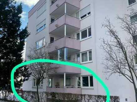 2-Zimmer Wohnung mit Garage und Terrasse