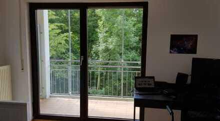 Geräumige 1-Zi-Wohnung mit tollen Ausblick, Balkon und EBK in Heidelberg, Emmertsgrund