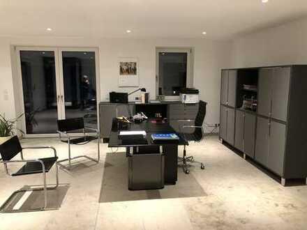 Chice Büro-/Gewerbefläche 70,5 qm mit 2 separaten Räumen in Starnberg-Schloßberg mit Seeblick