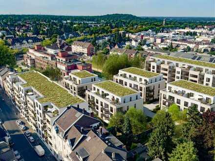 Gut geschnittene 2-Zimmer-Erdgeschosswohnung mit Sonnenterrasse und Garten