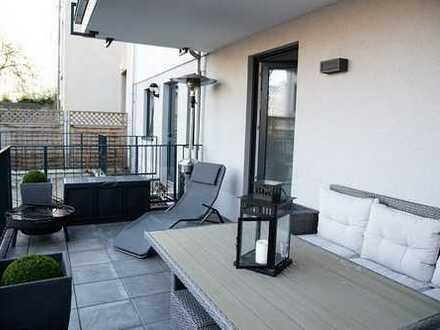 Zentrumsnahe 3-Raum-Wohnung mit Terrasse!