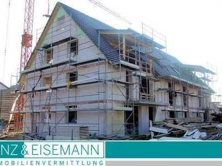 Großzügige Neubau-Maisonettewohnung im DG mit Galerie und Dachterrasse in Stutensee-Friedrichstal