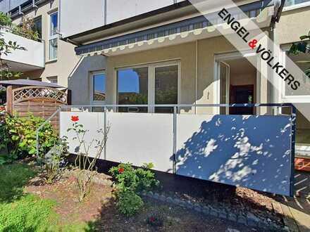 Sonnige 3-Zimmer-Wohnung mit privatem Garten