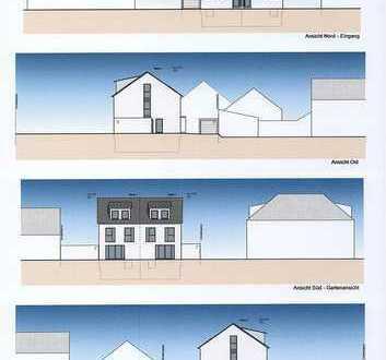 Moderne und helle Doppelhaushälfte mit Garage und Stellplatz in naturnaher Lage