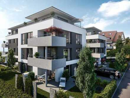 Erstbezug: moderne 2-Zimmer-Wohnung mit EBK und Balkon