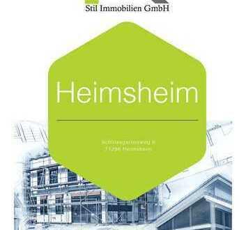 Zentral Heimsheim 3.5 Zimmerwohnung im Dachgeschoss mit Balkon ( Wohnung Nr. 4)