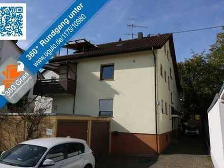 Wohnen in Ortsrandlage - inkl. überdachter Eckbalkon, Garage + Stellplatz