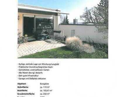 Gepflegter 6-Zimmer-Bungalow mit Einbauküche in Lengfeld, Würzburg
