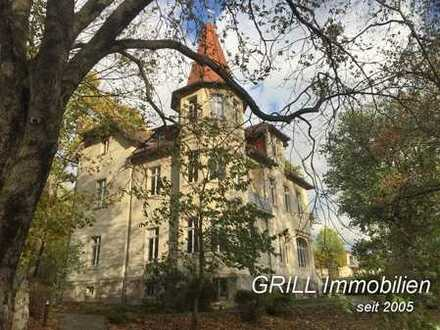 GRILL IMMOBILIEN empfiehlt: Stilvolle Villa zum Wohnen und Arbeiten in reizvoller Umgebung