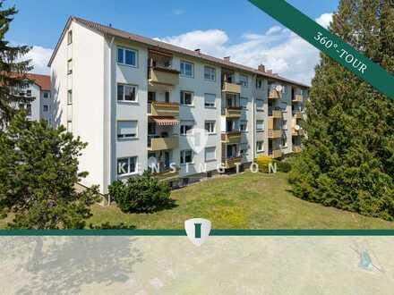Charmante 3,5-Zimmer-Wohnung mit Balkon und Garage in ruhiger Wohnlage von Gottmadingen