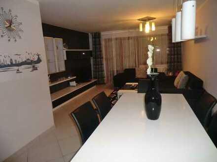 3 Zimmer Gartenwohnung in familienfreundlicher Wohnanlage in Pfersee