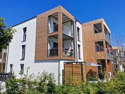 Erstbezug mit Einbauküche und Balkon: stilvolle 2-Zimmer-Dachgeschosswohnung in Offenbach am Main
