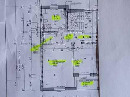 2-Zimmer-Whg., Neubau mit Balkon, Schallstadt, an Einzelperson zu vermieten