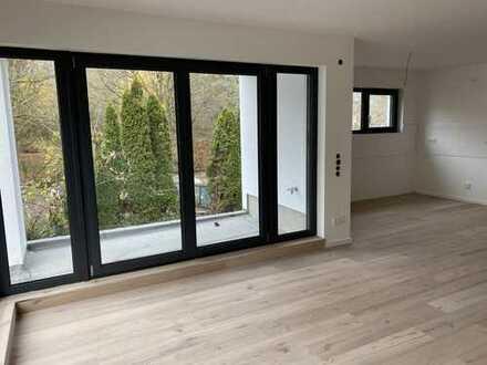 Neubau-Erstbezug: 2 Zimmerwohnung mit 2 Balkonen in gehobener Ausstattung
