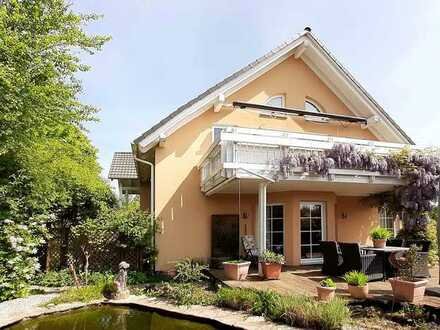 Erholung pur! Stilvolles 1- bis 2-Familienhaus in ruhiger Feldrandlage in Leimen-Lingental