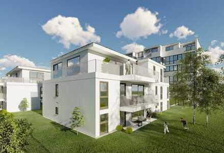 Drei-Zimmer-Penthouse mit Balkon
