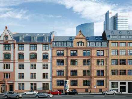 Viel Wohnkomfort auf wenig Raum! City-Apartment auf ca. 36 m² mit Balkon mitten in Frankfurt