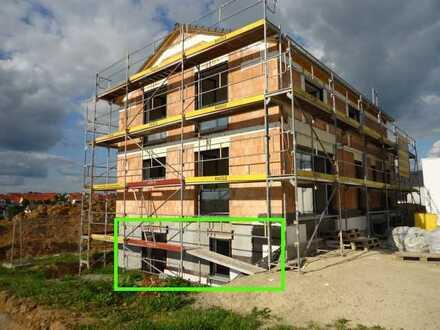 1425 – Neubau! 2 Zi. - Einliegerwohnung in ruhiger Lage in Ergenzingen!