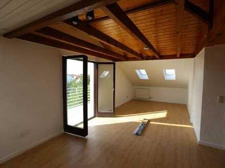 Lampertheim, Renovierte 3-Zimmer-Dachgeschosswohnung mit Balkon und EBK