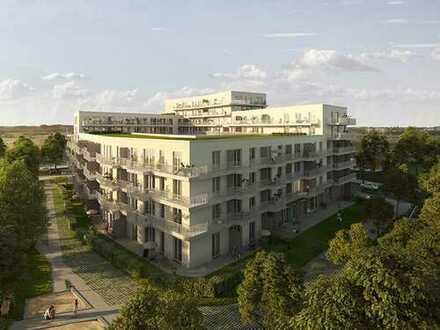 Ruhig und grün gelegen! Herrliche 2-Zimmer-Wohnung auf ca. 60 m² mit schöner Loggia