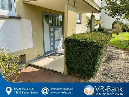 Kapitalanleger aufgepasst! Gepflegte 2 Zimmer Wohnung mit Balkon in Bühl.