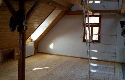 Gemütliche 1-Zimmer-DG-Wohnung mit Blick ins Grüne in Neidlingen