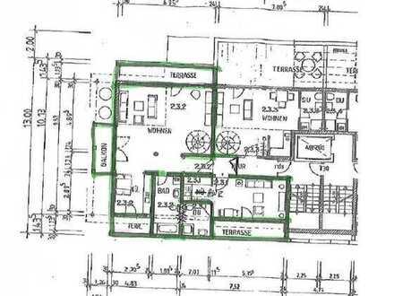 Geschmackvolle 3,5-Raum-Maisonette-Wohnung mit 4 Balkonen und Klimaanlage in Vaihingen an der Enz