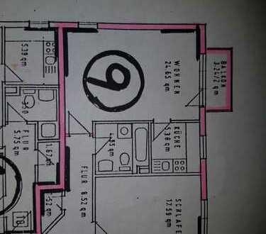 Gepflegte 2-Zimmer-Wohnung mit Balkon und Einbauküche in Karlsruhe-Neureut
