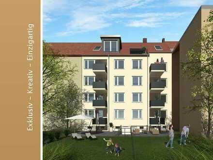 Wunderschöne, sanierte 3 Zi. Whg, mit Balkon und Tageslichtbad in der Nordstadt
