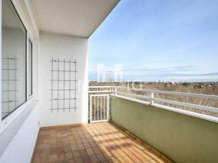 MÜNCHNER IG: Dachgeschosstraum mit Alpenaussicht - Sofort freie & helle 2-Zimmer Wohnung
