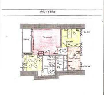 3-Zimmer-Wohnung mit Balkon Fußb.-Hzg. + Kaminofen, EBK, ca. 82 m², in Hilzingen-OT