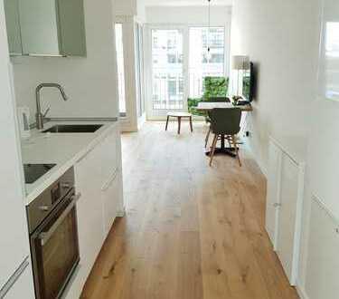 Ideales Business Apartment: Provisionsfrei, komplett möbliert, Bodentiefe Fenster&Loggia