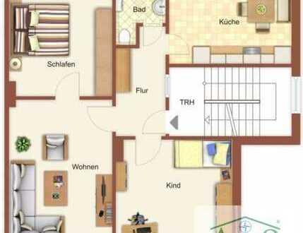 - Schöne helle Wohnung mit Pantry-Küche - Parkplatz  und Gartennutzung -