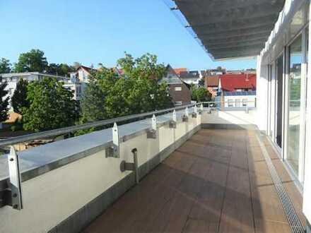 Exklusives Penthouse mit Dachterrasse und Aufzug