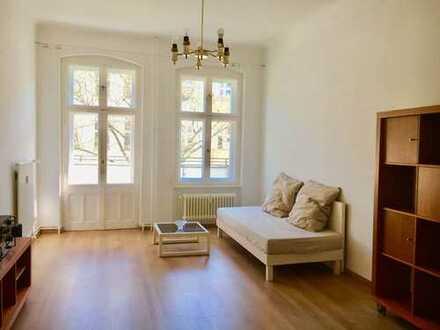 Longtime Sublet/Langzeituntermiete beautiful 2-Zimmer-Wohnung mit Balkon in Neukölln Körnerkiez