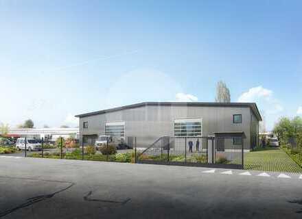 Neubau – Erstbezug Lager- und Gewerbehalle im Campus Stubenwald