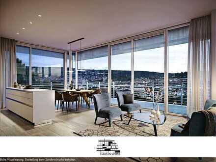 Genießen Sie aus Ihrem 2,5-Zi.-Penthouse-Traum täglich diese beeindruckende, fantastische Aussicht!