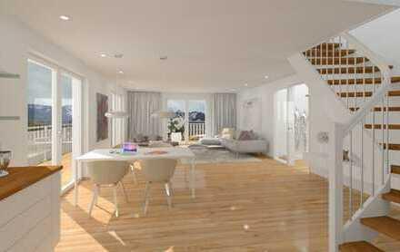 4-Zi.-Maisonettewohnung mit ca. 165 m² und herrlichen Aussichten