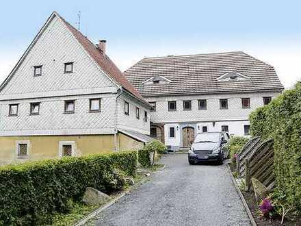 Denkmalgeschützter Zweiseitenhof in 02727 Ebersbach-Neugersdorf OT Neugersdorf
