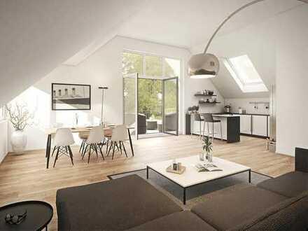 Neuste Wohnkultur in Alt-Niehl! Wohnung mit Penthouse-Charakter auf ca. 143 m² mit großem Süd-Balkon