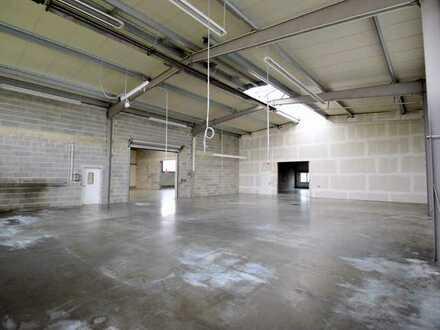 Produktions- und Lagerhalle mit Büro zu vermieten